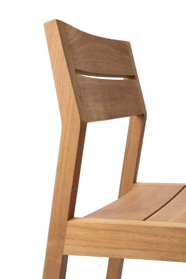 Tuinstoel Teak EX 1 Outdoor dining chair