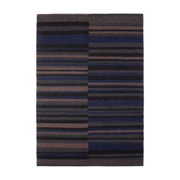 Ethnicraft | kilim vloerkleed 250x350 - cobalt