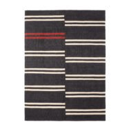 Ethnicraft | Kilim black mazandaran vloerkleed - 250x350