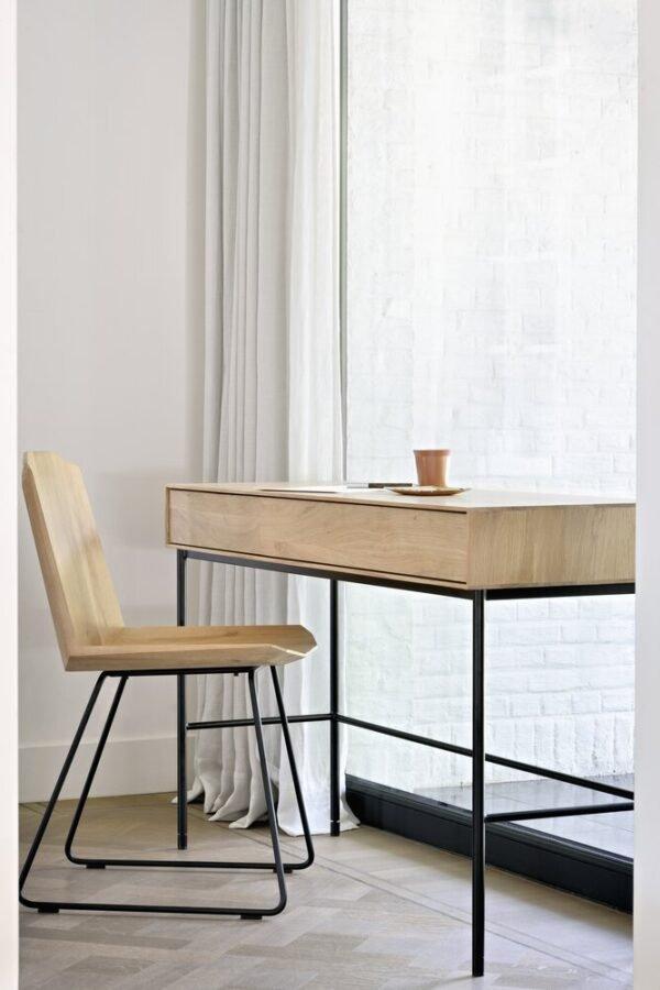 Oak Whitebird desk Ethnicraft 3