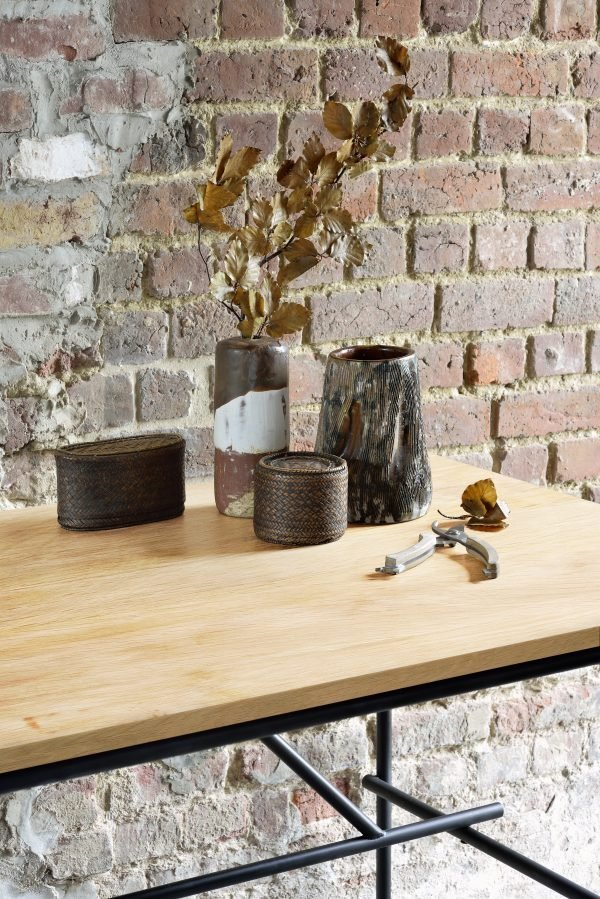 Oak Oscar desk Ethnicraft